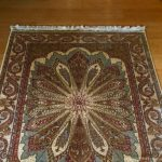 Oriental rug after it was cleaned